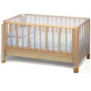 Zanzariera universale per lettino bambino neonato bebè elastica colore bianco