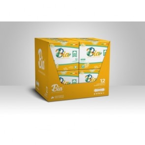 Assorbenti igienici giorno BIA con ali biologici 100% cotone organico ipoallergenici 4 pz